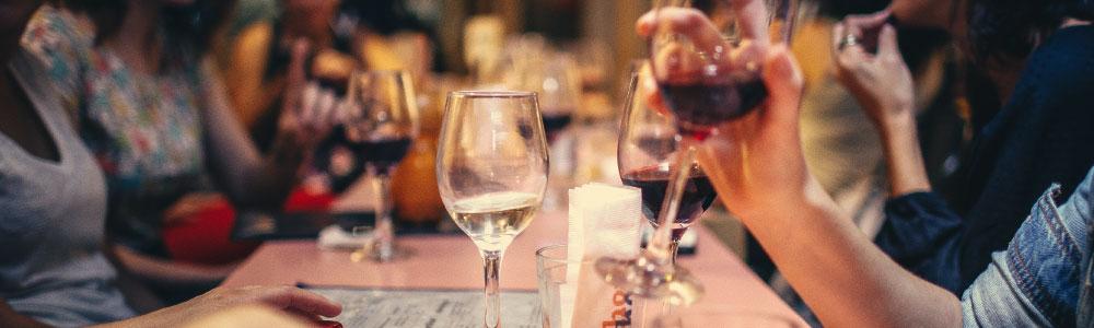 Witte wijn met een zoet smaakprofiel