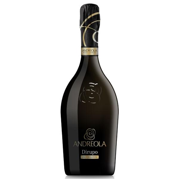 """Andreola Valdobbiadene Prosecco Superiore DOCG """"Dirupo"""" Extra Dry"""